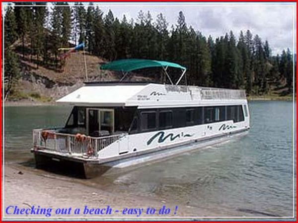 Used Custom Twin Anchors Houseboat House Boat For Sale