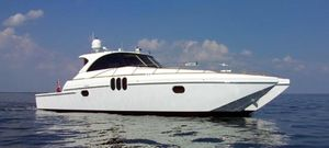 New Offshore Yachts 57 Sport Coupe Power Catamaran Boat For Sale