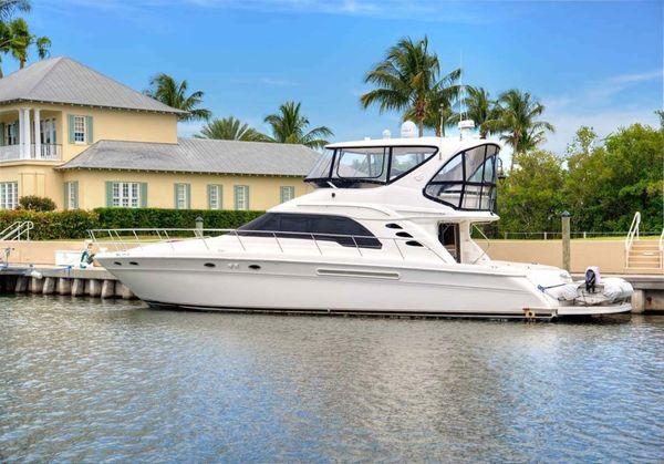 Used Sea Ray 56 Sedan Bridge Flybridge Boat For Sale