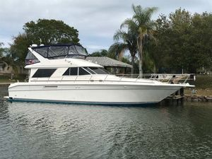 Used Sea Ray 500 Sedan Bridge Flybridge Boat For Sale