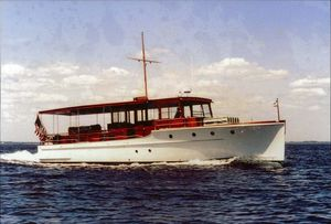 Used Elco Deckhouse Motoryacht Antique and Classic Boat For Sale