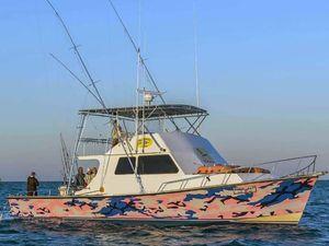 Used Evans & Sons 50 Flybridge Commercial Boat For Sale