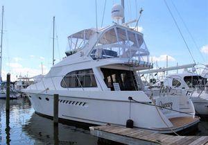 Used Ocean Alexander 500 Sports Sedan Flybridge Boat For Sale