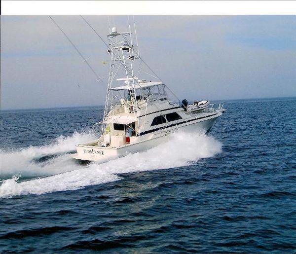Used Bertram 50 Convertible Fishing Boat For Sale