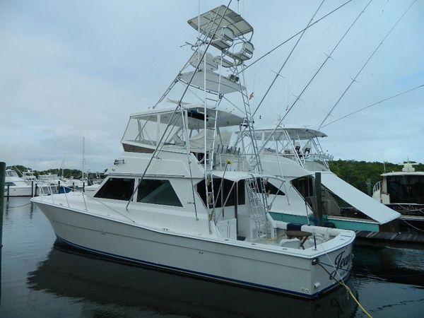 Used Viking Sport Fisherman Convertible Fishing Boat For Sale