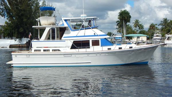 Used Offshore Yachts 48 Yachtfisher Motor Yacht For Sale