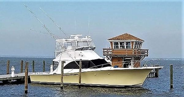 Used Jersey 42 Convertible Sportfisherman Convertible Fishing Boat For Sale