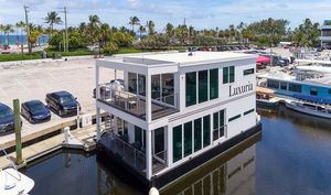Used Global Boatworks Luxury House Yacht House Boat For Sale
