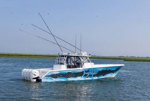 Used Seahunter Saltwater Fishing Boat For Sale