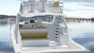 New Hatteras 45 Express no Tower Sports Fishing Boat For Sale