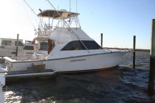 Used Ocean Yachts 44 Super Sport Convertible Fishing Boat For Sale