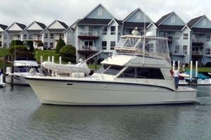 Used Hatteras 43 Convertible Fishing Boat For Sale