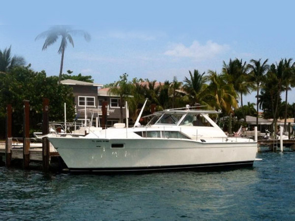 Used Chris Craft Commander Cruiser Boat For Sale