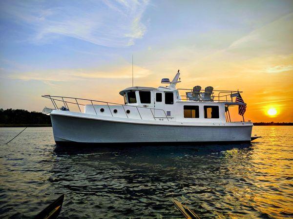 Used American Tug 395 Trawler Boat For Sale