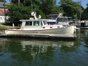 Used Northern Bay 38 Downeast Fishing Boat For Sale