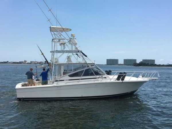 Used Blackfin 38 Combi Express Sports Fishing Boat For Sale