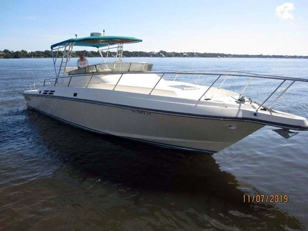 Used Intrepid Walk-A-Round Walkaround Fishing Boat For Sale