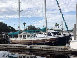 Used Fisher 37 Pilothouse Motorsailer Sailboat For Sale
