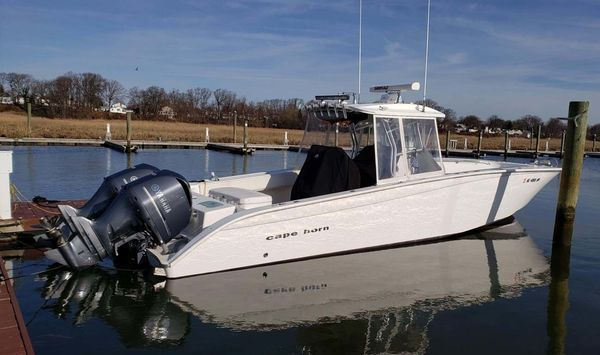 Used Cape Horn 36 Center Console Fishing Boat For Sale
