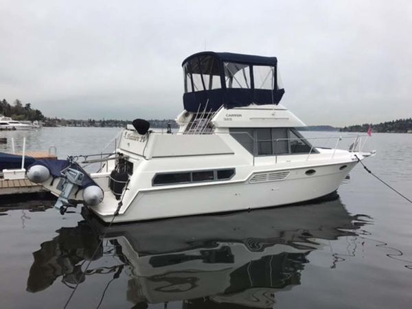 Used Carver 325 Aft Cabin MY Cruiser Boat For Sale