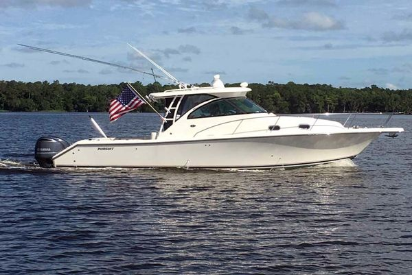 Used Pursuit 345 OS Saltwater Fishing Boat For Sale