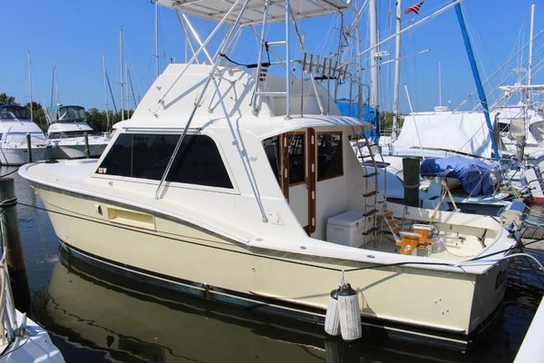 Used Hatteras 34 Convertible Fishing Boat For Sale
