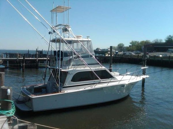 Used Egg Harbor Convertible Fishing Boat For Sale