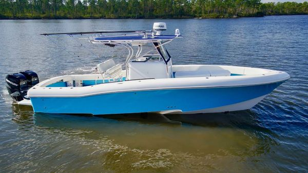 Used Typhoon 33 Canyon Runner Rybo Runner Center Console Fishing Boat For Sale