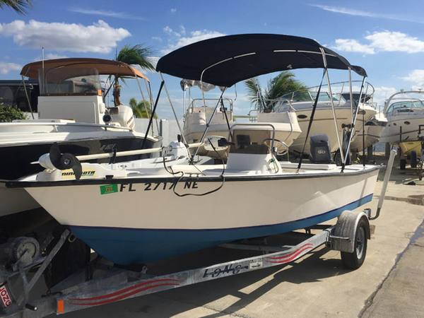 Used Cape Craft 175 Bay Boat For Sale