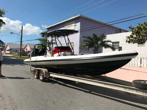 Used Airship Rigid Sport Ski and Fish Boat For Sale