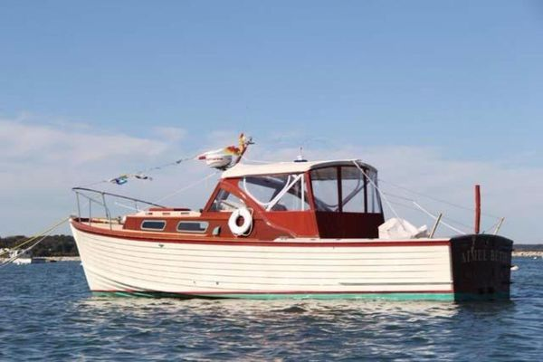 Used Mackenzie Cuttyhunk Bass Boat Sports Fishing Boat For Sale