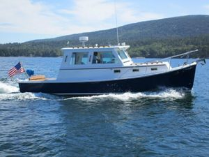 Used Morgan Bay 29 Webbers Cove Downeast Fishing Boat For Sale