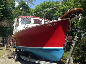 Used Webbers Cove Downeast Fishing Boat For Sale