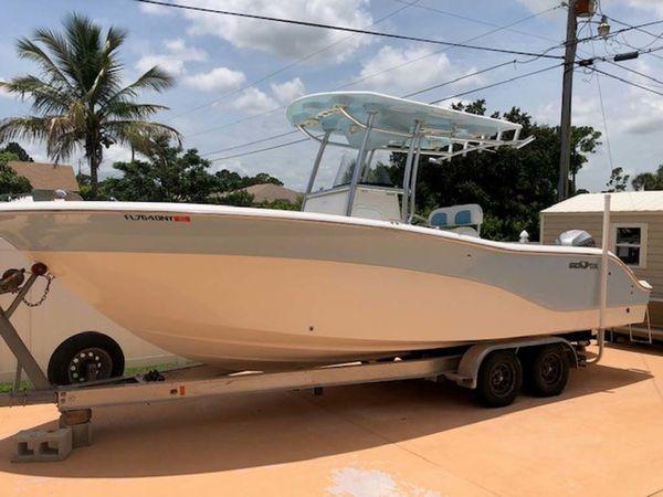 Used Sea Fox Adventure Center Console Fishing Boat For Sale