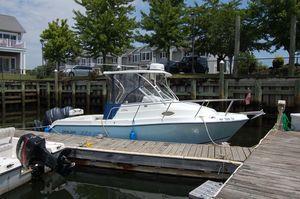 Used Polar 2300WA Walkaround Fishing Boat For Sale