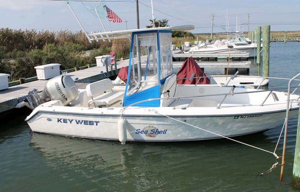 Used Key West Center Console Fishing Boat For Sale