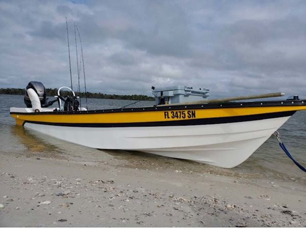 Used Skiff Costera 20 Skiff Fishing Boat For Sale