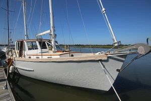 Used Covey Island Boat Works Motorsailer Sailboat For Sale