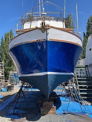 Used Custom Navy MK 5 Picket Boat/Conversion Trawler Boat For Sale