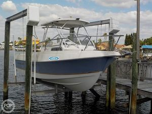 Used Aquasport 250 Explorer Walkaround Fishing Boat For Sale