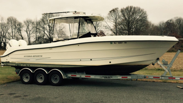Used Hydra Sport 2900 CC 2900cc Center Console Fishing Boat For Sale