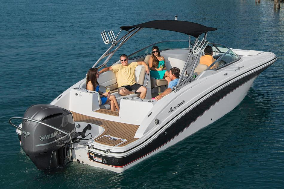 2016 new hurricane sundeck 2486 ob deck boat for sale for Hurricane sundeck for sale