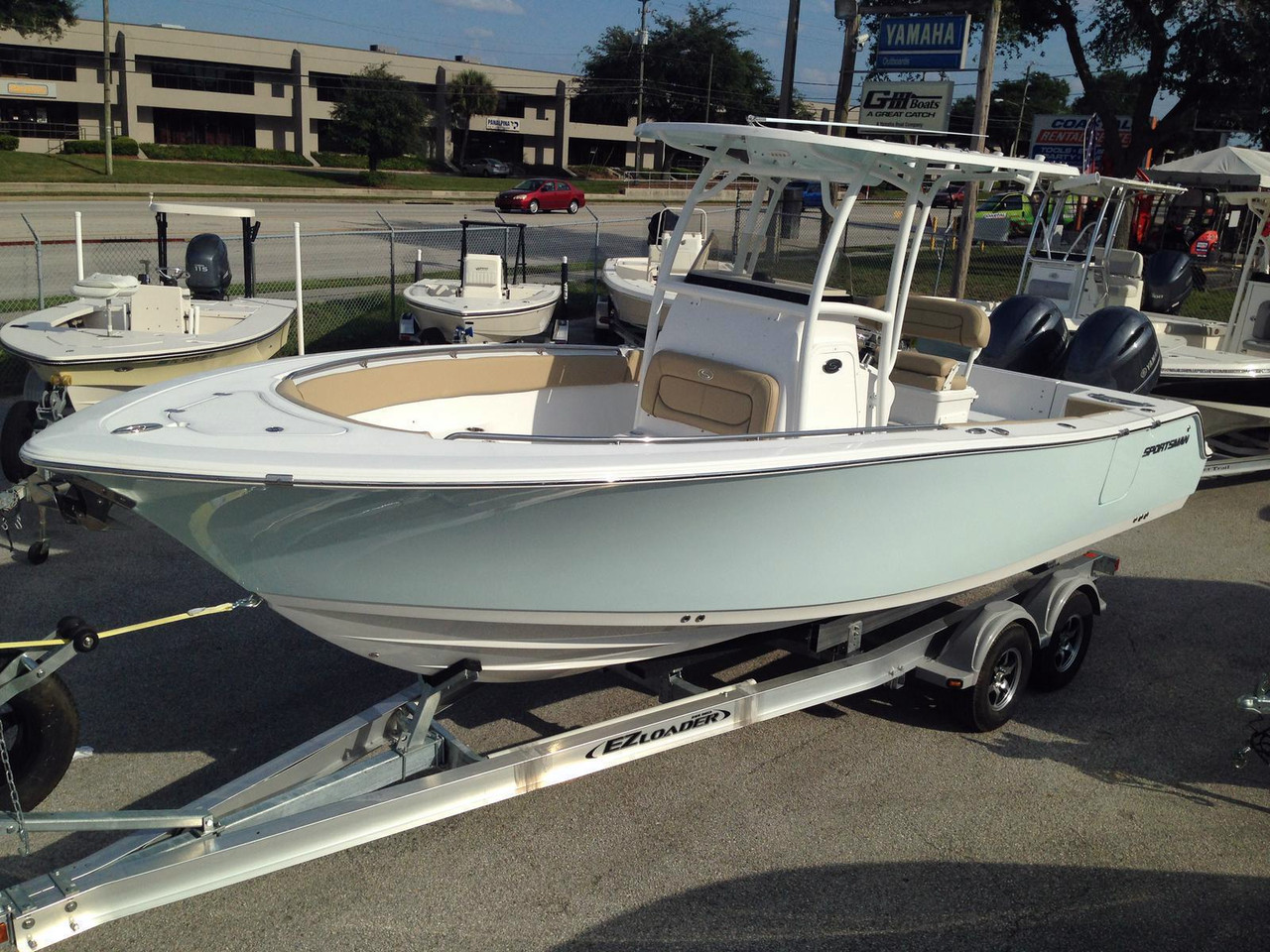 2016 new sportsman boats heritage 251 center console