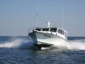 Used Markley 46 Custom Chesapeake Deadrise Downeast Fishing Boat For Sale