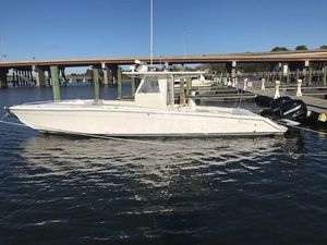Used Marlago 35 Cuddy Cabin Center Console Fishing Boat For Sale