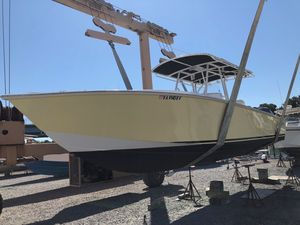 Used Jupiter 31 Cuddy Cabin Center Console Fishing Boat For Sale