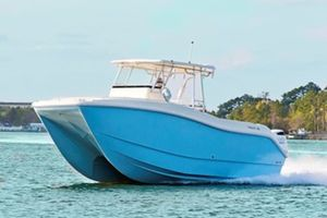 New Hysucat 30 CC Sportfisher Center Console Fishing Boat For Sale