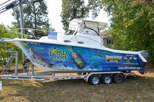 Used Prokat 296WA Center Console Fishing Boat For Sale