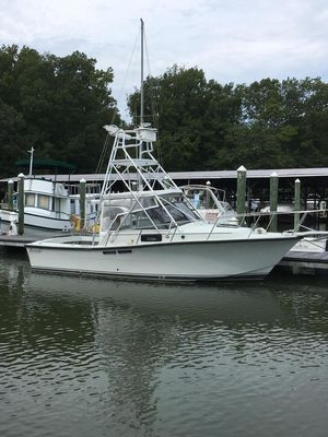 Used Rampage 28 Express Sports Fishing Boat For Sale
