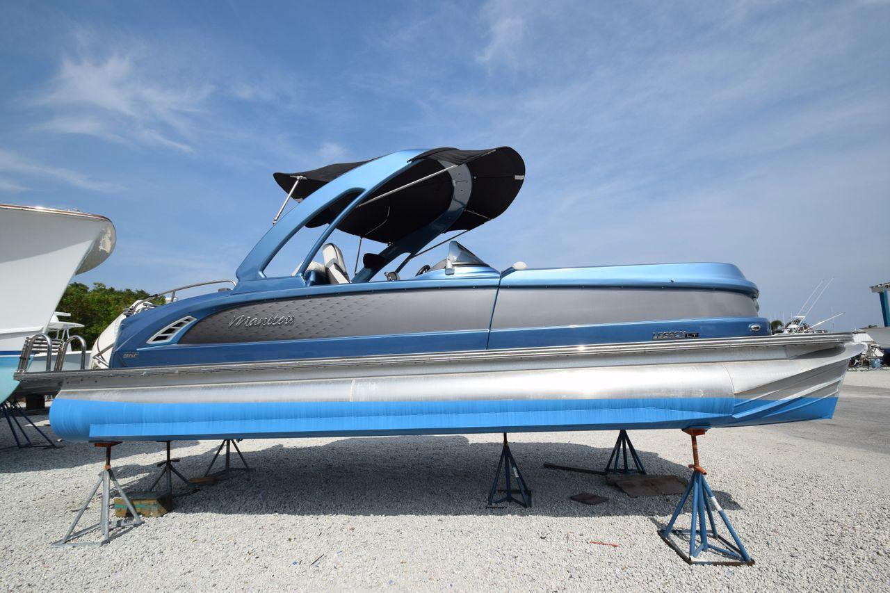 2019 Used Manitou Legacy Lt Shp Tritoon Pontoon Boat For Sale 110 000 Jupiter Fl Moreboats Com